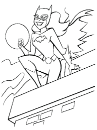 Girl Superhero Coloring Pages Boy And Girl Superhero Coloring Pages