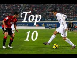 Cristiano Ronaldo || Top 10 Skill moves Ever || HD || - YouTube