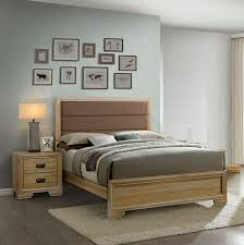 Cardi 2 Piece Natural Queen Bedroom Set - Bedroom - Progressive ...