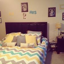 Bedroom:Yellow And Gray Bedroom Ideas Teal Chevron Flores House New  Decorating Grey Black Pinterest