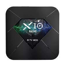 R-TV Box X10 S905W 2GB 16GB 100M LAN 2.4G WIFI Android 4K H.265 VP9 TV Box  - Digital Zakka
