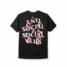 Details About Anti Social Social Club Kkoch Black Tee T Shirt Assc Size S M L Xl W Receipt
