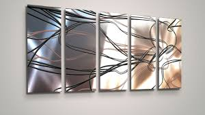 abstract metal wall art. Amazing Modern Abstract Metal Wall Art Painting Sculpture Home Decor Ebay Pertaining To Attractive E