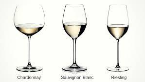 types of white wine glasses