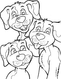 Kleurplaat Honden Kleurplaat 8901 Kleurplaten