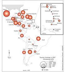 Caribbean Islands Comparison Chart International Tourism In The Caribbean Area Current Status