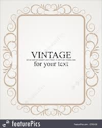vintage frame border design. Interesting Vintage Templates Vintage Frame Or Border Design Vector Intended Design