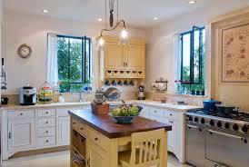 mediterranean lighting. Kitchen Design Style With Small Island Ideas: Recessed Lighting In Simple Mediterranean S