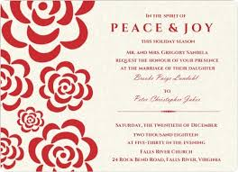 Modern Wedding Invitations For You Christmas Wedding