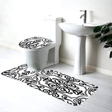 black and white bath rug mat phone quality cover bad directly from china covered black and white bath rug