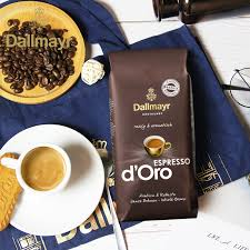 Delicious as caffe crema, cappuccino or latte macchiato. Dallmayr Germany Imported Blend Italian Espresso Coffee Beans 200g Deep Roast