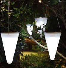 outdoor solar lighting ideas. Outdoor Solar Lighting Ideas. Hanging-solar-garden-light-cornet-gardenista Ideas