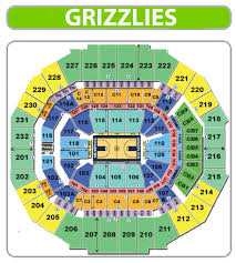 Fedex Forum Memphis Grizzlies Seating Chart 1 Memphis Grizzlies Seating Chart Fedex Forum Fedexforum