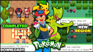 New Completed Pokemon GBA ROM HACK With Ash & Pikachu's Hoenn Journey !!  [Gameplay + Download] - YouTube