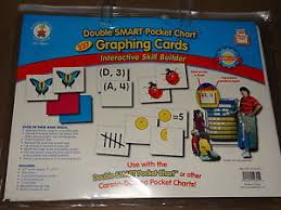 Details About Carson Dellosa Doublesmart Pocket Chart 237 Graphing Cards New In Package