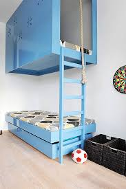 amazing kids bedroom ideas calm. Kids Bed Design : Best Simple Cool Bunk Beds Blue Unique 3 Container Single Great Cute Calm Boy Girl Wonderful Interior Amazing Bedroom Ideas
