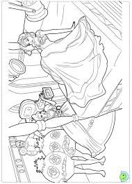 Small Picture Barbie Fashion Fairytale Coloring pages for kids DinoKidsorg
