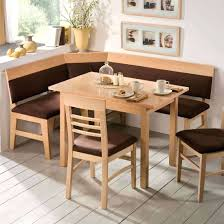 Breakfast Nook Corner Bench And Table Seating Set.