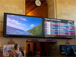 Digital Signage Advances Help Deliver Info To Riders In Real
