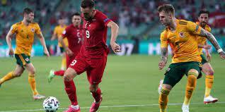 Euro 2020 Avrupa Şampiyonası İlk Yarı: Türkiye: 0 - Galler: 1