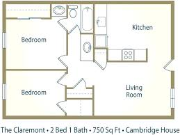 750 Square Feet Floor Plan Gallery Of Single Bedroom House Plans Square Feet  New Apartment With .