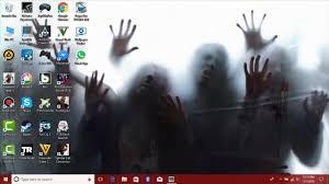 Desktop Live Wallpaper Zombie Wallpaper