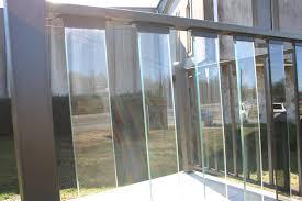 Decking Glass Deck Railing For Classy Deck Railing Material Ideas