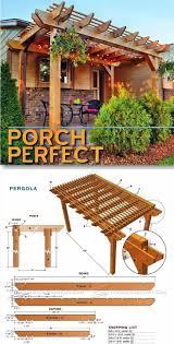 pergola designs and plans. porch pergola plans outdoor and projects woodarchivistcom designs p