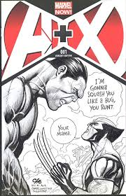 Wolverine Vs Hulk Sketch Cover By