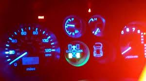 Mitsubishi Montero Interior Lights Mitsubishi Montero Ltd 2001 Instrument Cluster Led Change