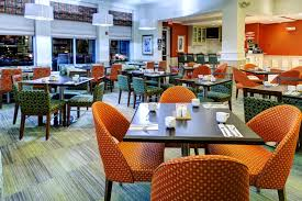 a restaurant or other place to eat at hilton garden inn overland park
