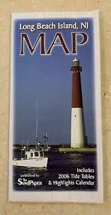 Long Beach Island New Jersey Shore Retro Deco Beach Poster