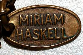 miriam haskell ions