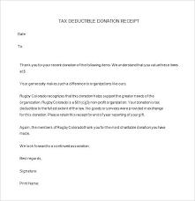 donation receipt letter templates donation letter template for non profit kays makehauk co