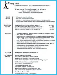 sample resume coaching position  vosvetenet