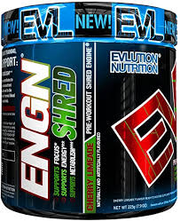 Evlution Nutrition <b>ENGN Shred Pre Workout</b> Thermogenic Fat ...