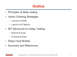 Dream Catcher Consulting Sdn Bhd Unique ME322 DESIGN FOR TESTABILITY [Slide 32] DfT Structures For Delay