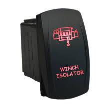12 volt 20amp on off laser led rocker switch red air on board rocker switch 650r laser led winch isolator red