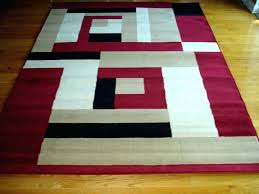 modern red area rugs beige and white rug marvelous black design carpet new contemporary circles red and black area rug gy wave white rugs