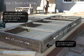 diy outdoor farmhouse table. DIY Farmhouse Table Diy Outdoor L