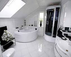 modern house inside. Modern Black Glasses Door Design To Bathroom That Can Be Decor With White Ceramics Floor Add The Beauty Inside House Ideas