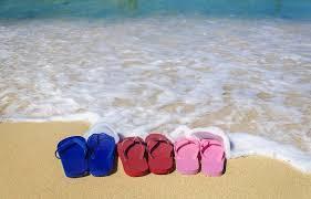 hawaiian gifts slippers and ocean