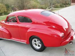 Chevrolet fleetline areo sedan Streetrod