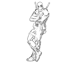 See the category to find more printable coloring sheets. Deadpool Coloring Pages For Preschool 5557 Deadpool Coloring Pages Coloringtone Book