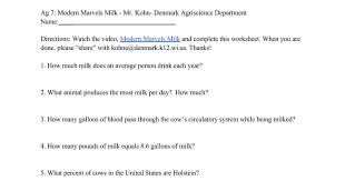 Modern Marvels Milk - Google Docs