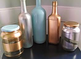Wine bottle DIY, DIY centerpieces, painted wine bottles, spray paint,  Pinterest tutorial