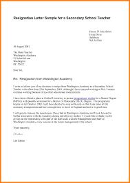 good letter of resignation unique teacher resignation letter template business template