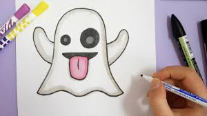 snapchat ghost drawing. how to draw ghost emoji - snapchat snapchat ghost drawing