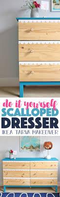 diy furniture makeovers. DIY Scalloped Dresser At DecoArt. Ikea MakeoverDresser MakeoversFurniture Diy Furniture Makeovers