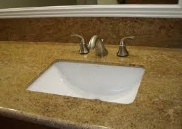 undermount bathroom sinks for granite countertops single bathroom sinks under white framed mirror full size installing